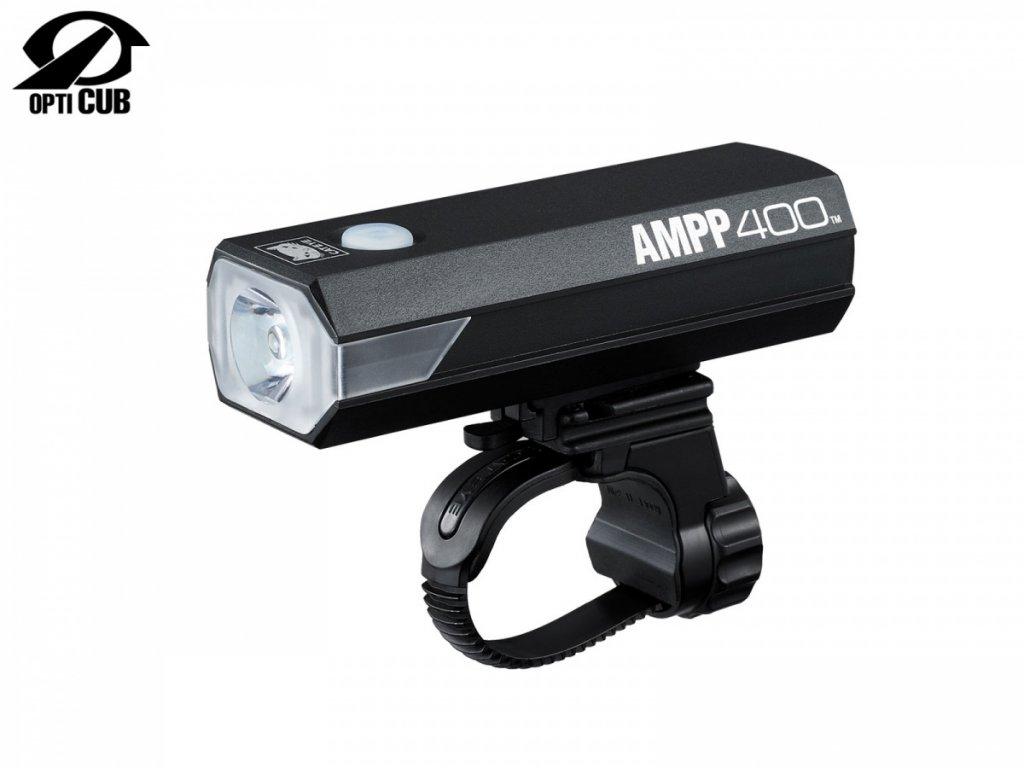 CATEYE Světlo př. CAT HL-EL084RC AMPP400  (černá)