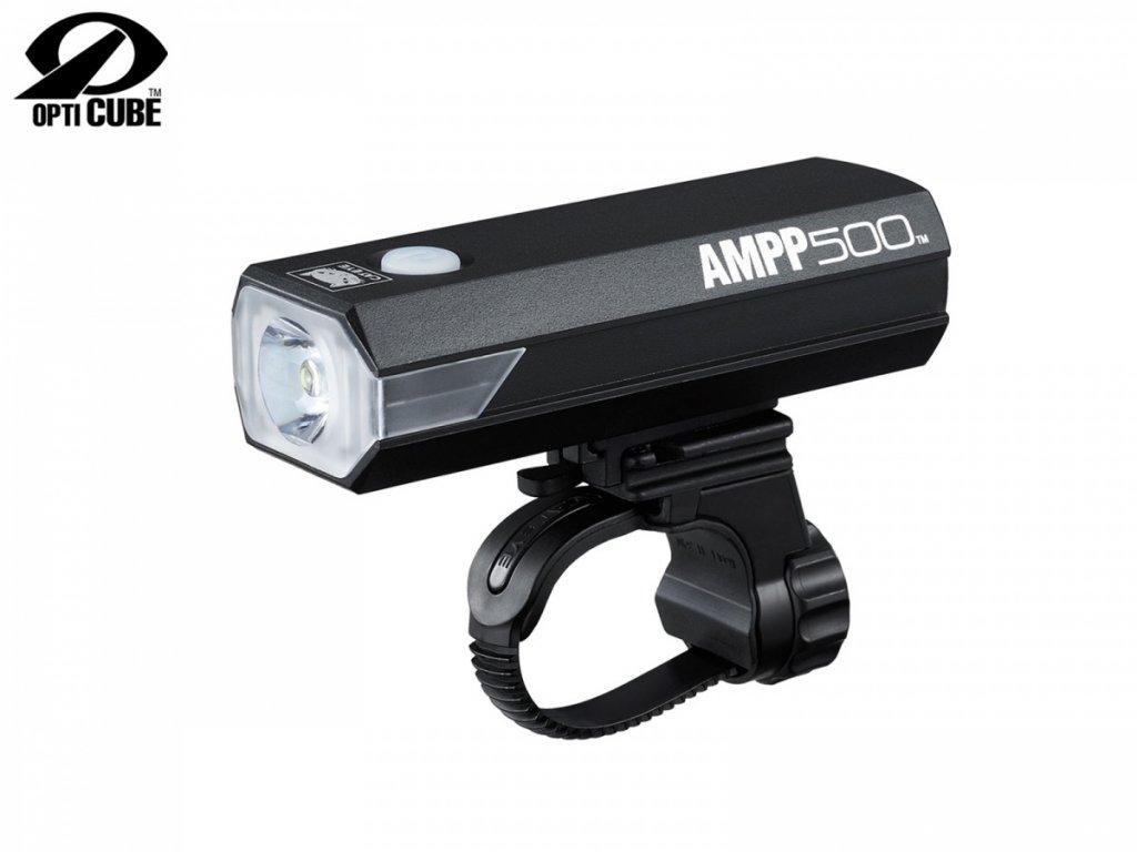 CATEYE Světlo př. CAT HL-EL085RC AMPP500  (černá)