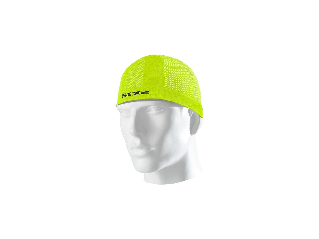 SIXS SCX čepice pod přilbu žlutá