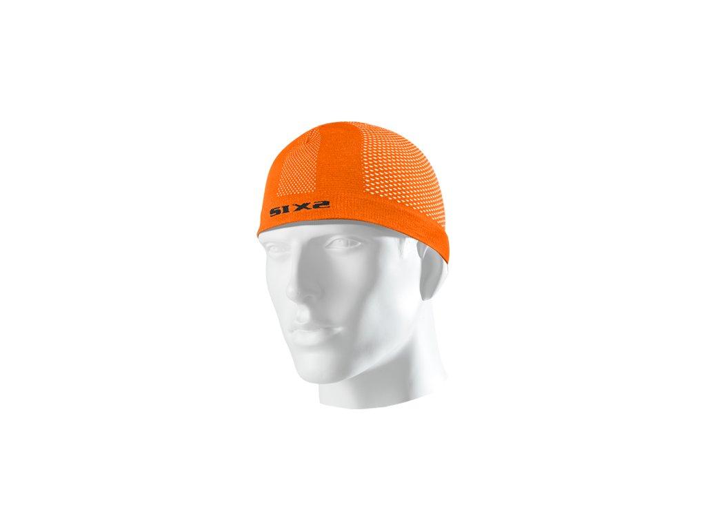 SIXS SCX čepice pod přilbu oranžová