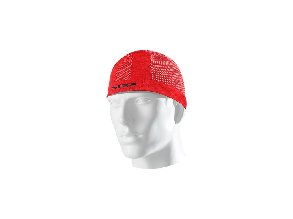 SIXS SCX čepice pod přilbu červená