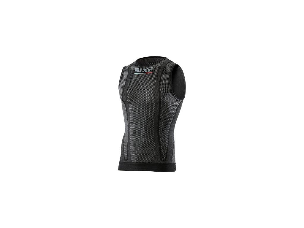SIXS SMX funkční tričko bez rukávů černá