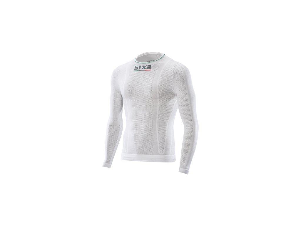 SIXS TS2L funkční odlehčené tričko s dlouhým rukávem bílá