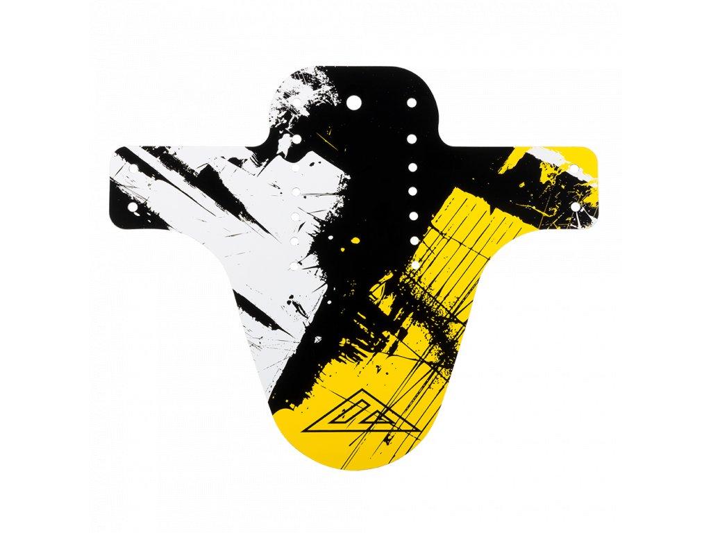 Blatník přední Azonic SPLATTER SHOCKER černá/žlutá
