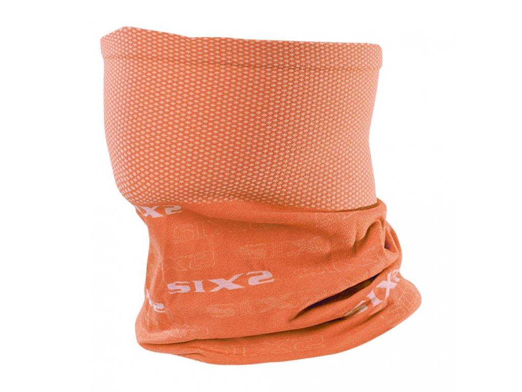 SIXS TBX funkční nákrčník oranžová