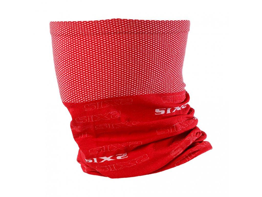 SIXS TBX funkční nákrčník červená