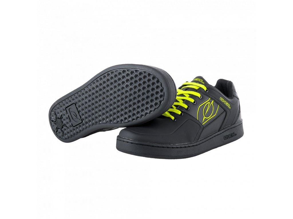 Boty O´Neal Pinned Pedal žlutá