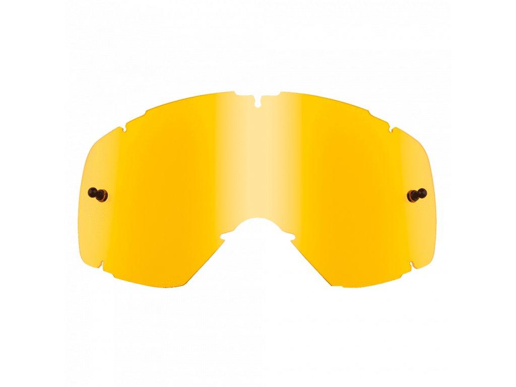 Náhradní sklo pro dětské brýle O´Neal B-30 žluté