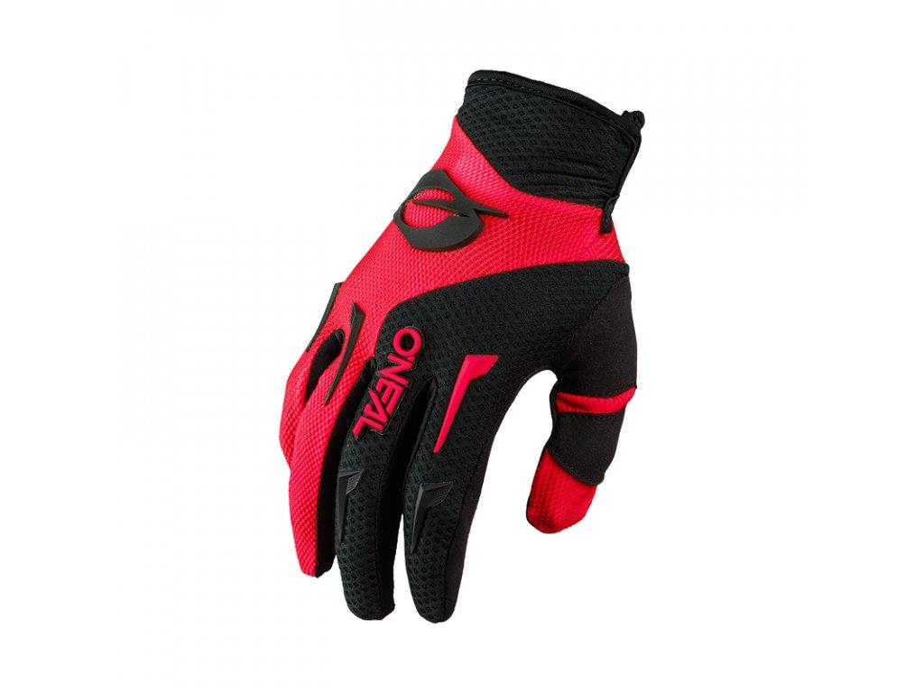 Dětské rukavice O´Neal ELEMENT červená