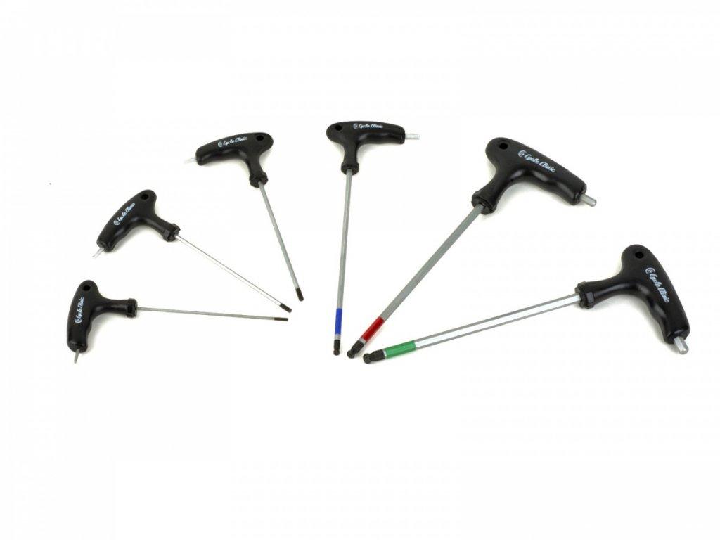 AUTHOR Nářadí CC Imbus TH 2-2,5-3-4-5-6 mm  (černá)