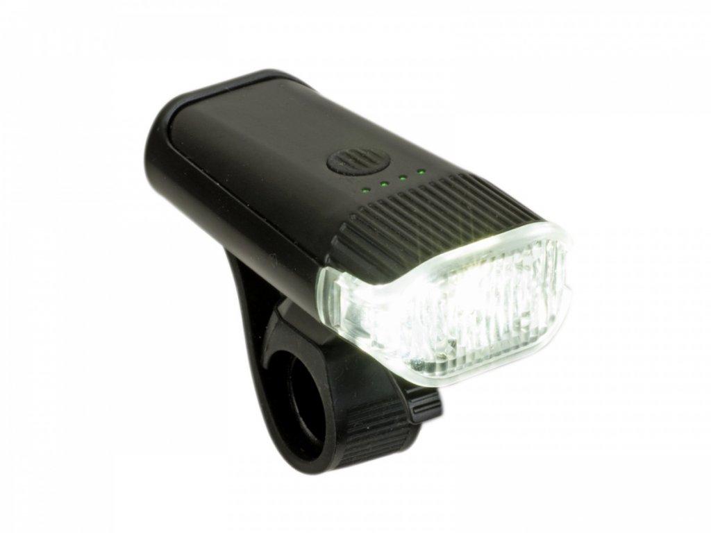 AUTHOR Světlo př. A-Vision 800 lm USB  (černá)