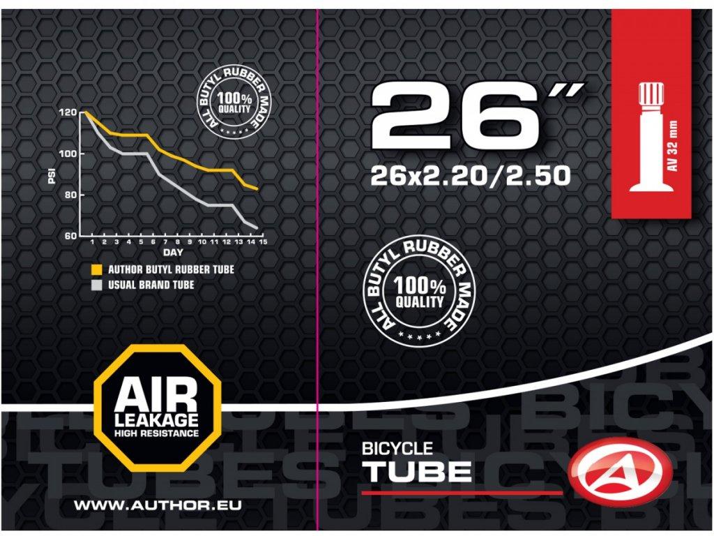 "AUTHOR Duše AT-MTB-26"" Wide AV32 26x2.20-2.50 (černá)"