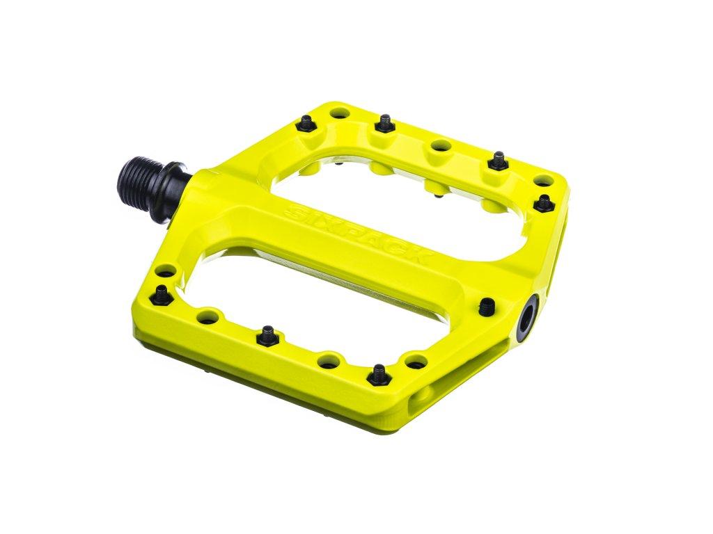 Pedály Sixpack Menace 3.0 žlutá