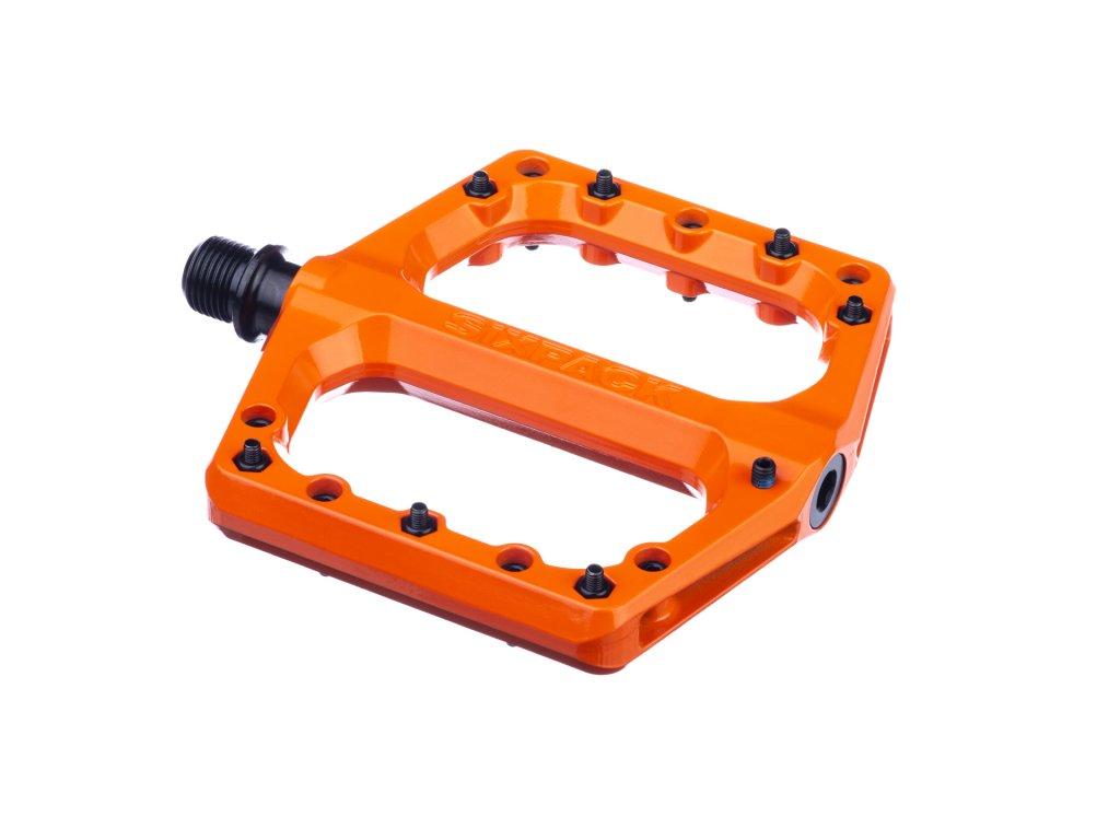 Pedály Sixpack Menace 3.0 oranžová