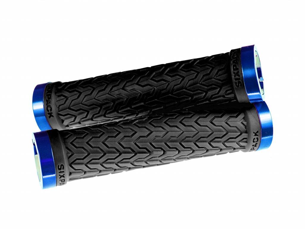 Gripy Sixpack S-Trix černá/modrá