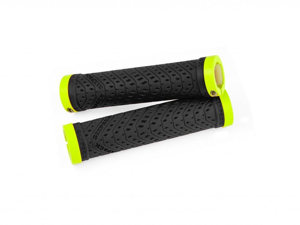 Gripy Sixpack K-Trix černá/žlutá