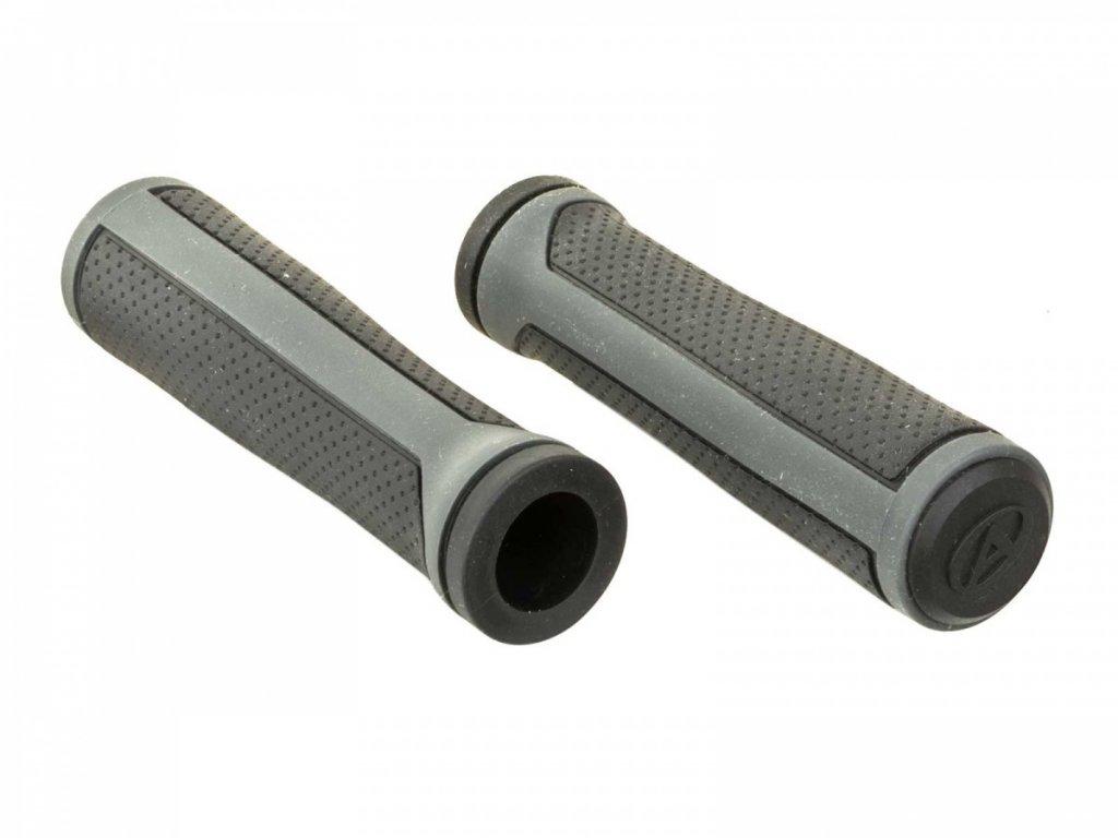 AUTHOR Gripy AGR R800 D2 l.125mm (černá/šedá)