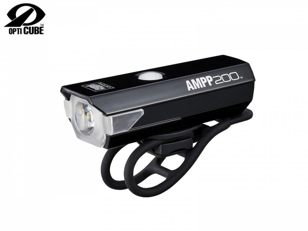 CATEYE Světlo př. CAT HL-EL042RC AMPP200  (černá)