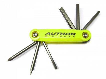 AUTHOR Nářadí AHT ToolBox 6   (žlutá-neonová/černá)