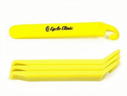 AUTHOR Montážní páka CC TL4 (3ks v bal)   (žlutá)