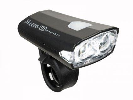 AUTHOR Světlo př. A-Doppio 40 lm USB  (černá)
