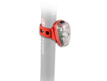 AUTHOR Světlo zad. A-Star USB  (červená/čiré-sklo)