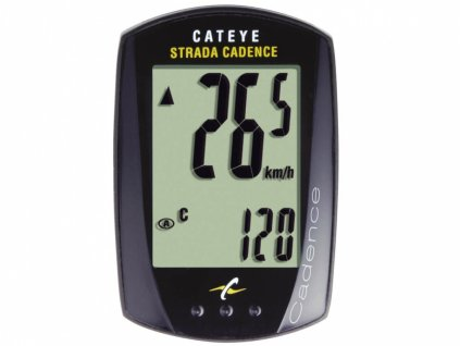 CATEYE Cyklopočítač CAT Strada kadence  (RD200)  (černá)