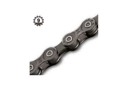 AUTHOR Řetěz KMC Z99 114/9  (šedá/šedá)