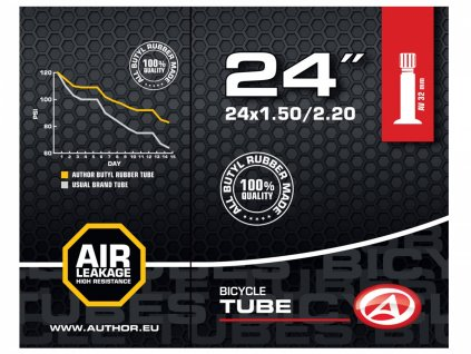 "AUTHOR Duše AT-CMP-24"" AV32 24x1.50/2.20 (černá)"