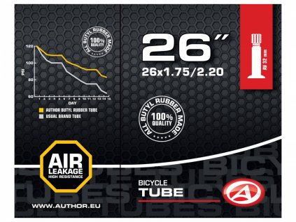 """AUTHOR Duše AT-MTB-26"""" AV32 26X1.75/2.20 (černá)"""