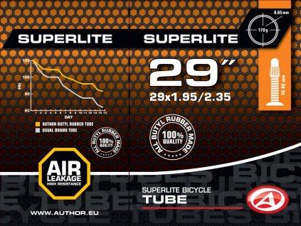 """AUTHOR Duše AT-MTB-29"""" SuperLite FV40 29x1.95/2.35  (černá)"""