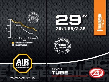 "AUTHOR Duše AT-MTB-29"" FV40 29x1.95/2.35  (černá)"