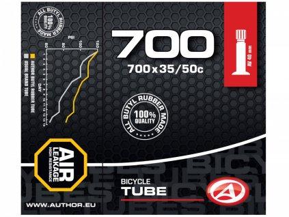 AUTHOR Duše AT-CROSS-700C Wide AV40 700x35/50C (černá)