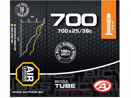 AUTHOR Duše AT-CROSS-700C FV40 700x25/38C (černá)