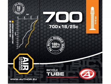 AUTHOR Duše AT-ROAD-700C FV48 700x18/25C (černá)