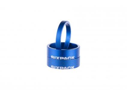 """Podložka hlavového složení Sixpack Menace 1-1,8"""" modrá"""