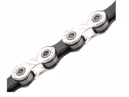 AUTHOR Řetěz KMC X10 116l / 10 sp  (šedá/černá)