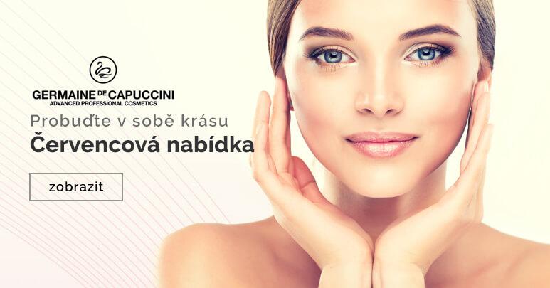 Akční nabídka produktů španělské salonní kosmetiky Germaine de Capuccini