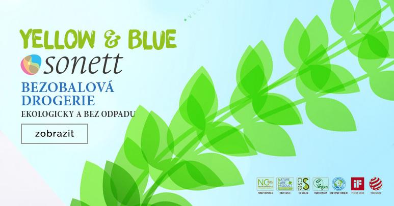 Stáčená ekodrogerie Sonett a Yellow & Blue v naší prodejně