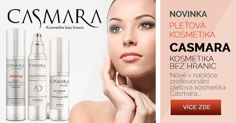 Novinka profesionální pleťová kosmetika Casmara ze Španělska