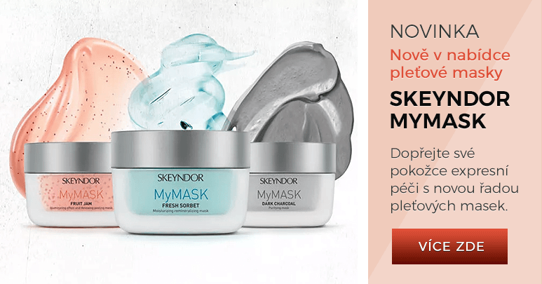 Nové pleťové masky Skeyndor MyMask