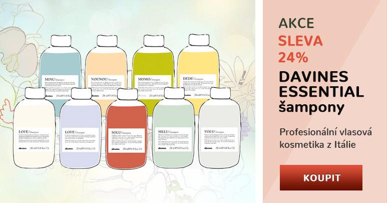 Akce - Davines šampony Essential za 199 Kč