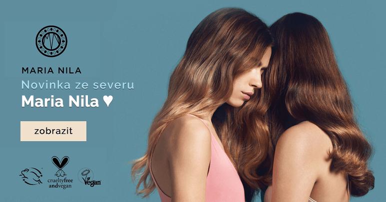 Nová v značka v nabídce: Vegán profi kosmetika ze Švédska MARIA NILA.......
