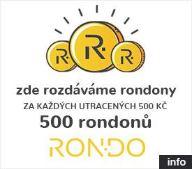 Jsme partnerem skvělého věrnostního programu RONDO.CZ