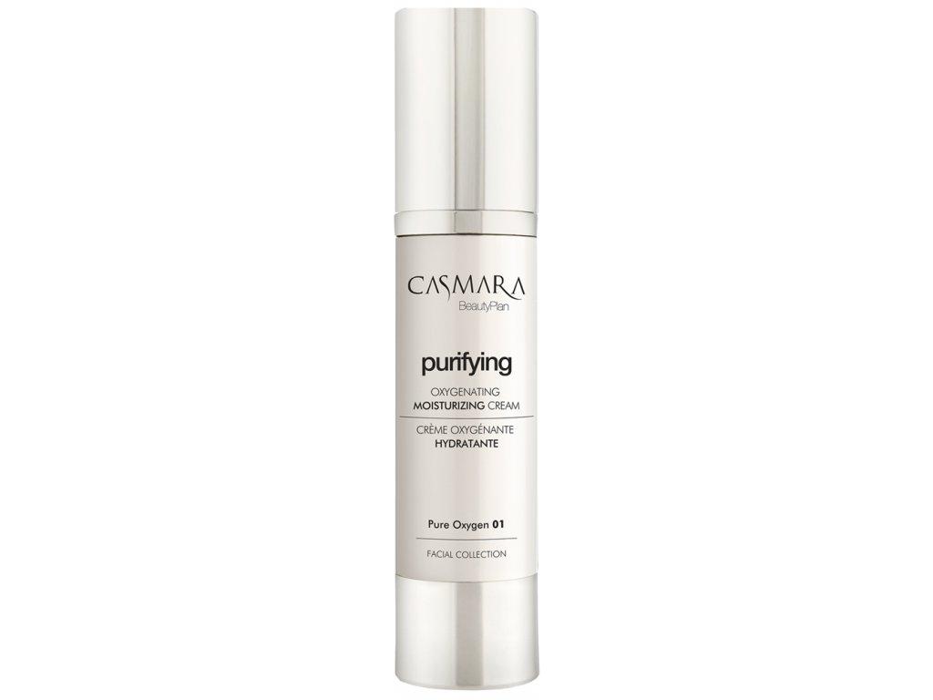 Casmara Purifying Oxygenating Moisturizing Cream - okysličující krém proti vráskám pro normální a smíšenou pleť 50ml