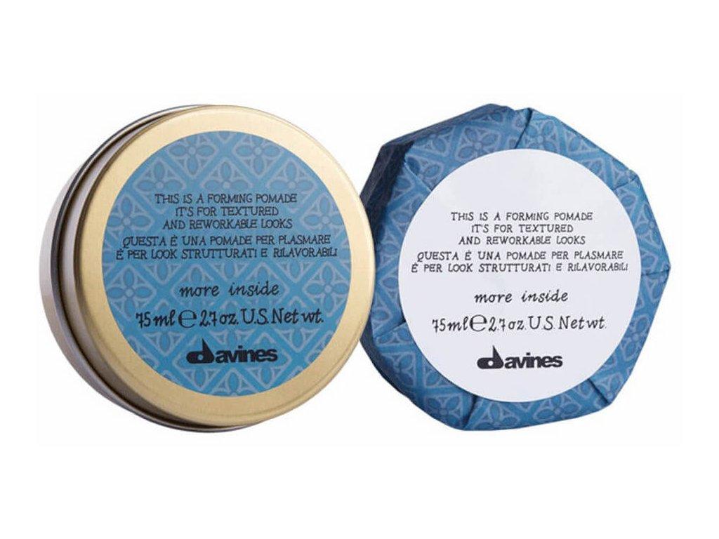 Davines More Inside Forming Pomade - tvarující pomáda na krátké až středně dlouhé vlasy 75 ml