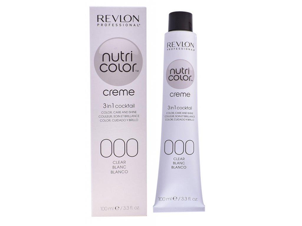 Revlon Professional Nutri Color Creme 000 Clear - výživná maska na barvené vlasy 100ml
