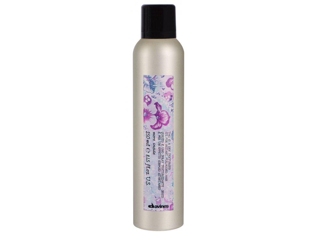 Davines More Inside Dry Texturizer - pudrový sprej pro texturu a objem vlasů 250 ml