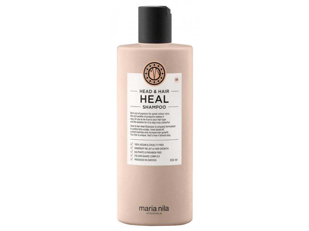 Maria Nila Head & Hair Heal Shampoo – šampon proti lupům a pro podporu růstu vlasů 350ml