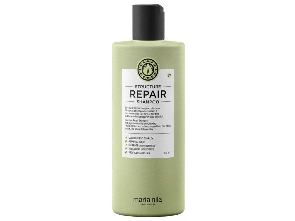 Maria Nila Structure Repair Shampoo – šampon na suché a poškozené vlasy 350ml